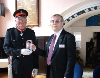 Mike Sarre with Lord Luitentant.jpg