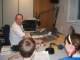 Students attending the studios for HRN's 'Exchange Radio' project which saw HRN go into schools and train students who would then attend our studio and in most cases do a 'Live' show